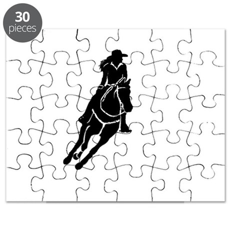 Lone Cowgirl Puzzle