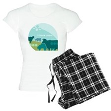 I love Moo Pajamas