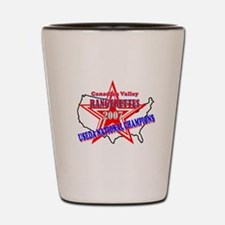 Champion Rangerettes Shot Glass