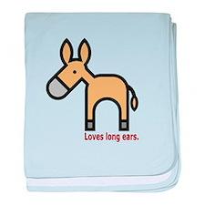 Loves Long Ears baby blanket