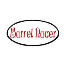 Barrel Racer Red Patches