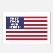 They Took Our Jerbs! Postcards (Package of 8)