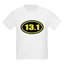 13.1 Half Marathon Oval T-Shirt