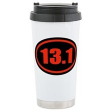13.1 Half Marathon Oval Travel Mug