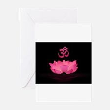 Pink Lotus Sutra Greeting Cards (Pk of 10)
