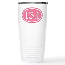 13.1 Pink Half Marathon Travel Mug