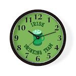 Irish Drinking Team Wall Clock