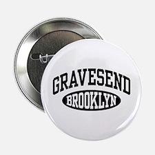 "Gravesend Brooklyn 2.25"" Button"