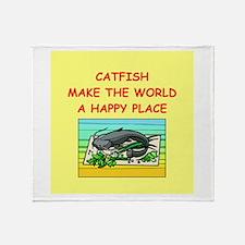 catfish Throw Blanket