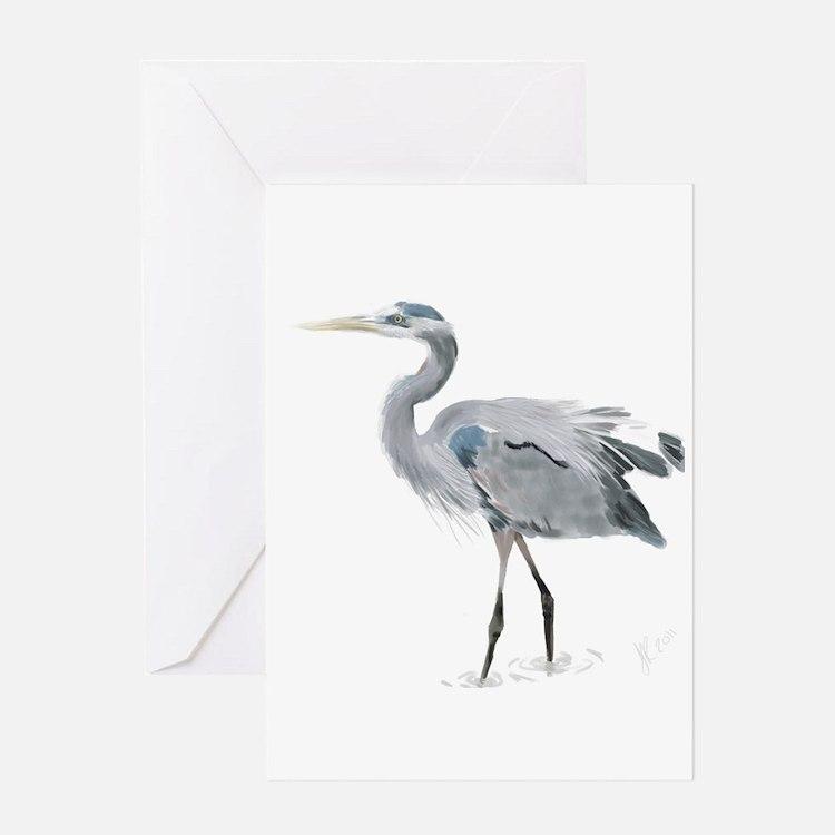 Cute Heron Greeting Card
