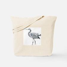 Cute Heron Tote Bag