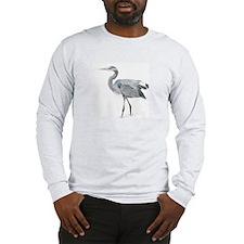 Long Sleeve T-Shirt - Great Blue Heron