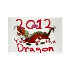 2012 - Year of the Dragon Rectangle Magnet