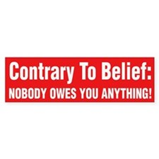 Anti Obama Bumper Stickers