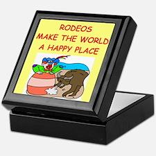 rodeos Keepsake Box