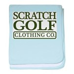 Scratch Golf Clothing Co. baby blanket