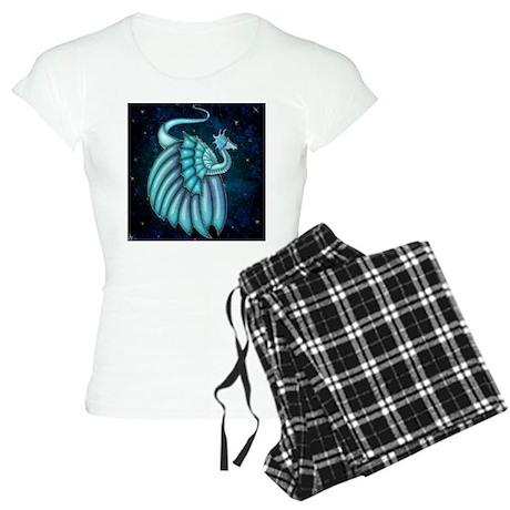Harvest Moon's Crystal Dragon Womens Light Pajamas