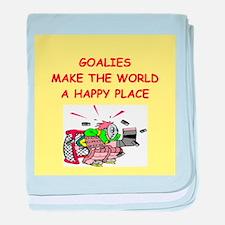 goalies baby blanket
