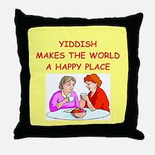 yiddish Throw Pillow