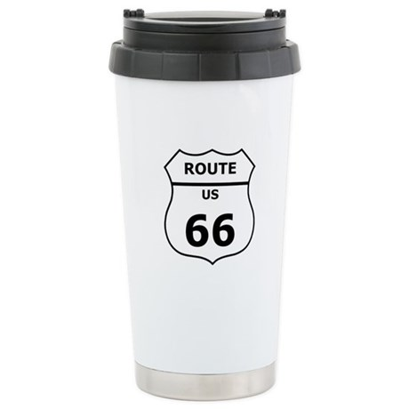 Route 66, Stainless Steel Travel Mug
