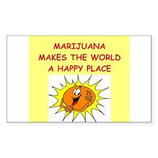 marijuana Decal