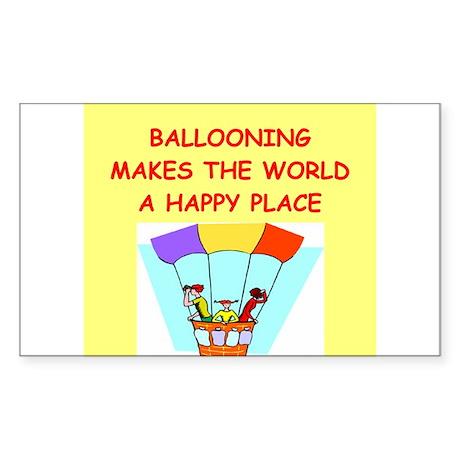 ballooning Sticker (Rectangle)