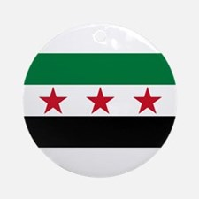 pre-1963 Flag of Syria Ornament (Round)