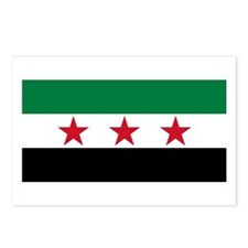 pre-1963 Flag of Syria Postcards (Package of 8)