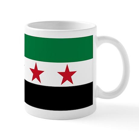 pre-1963 Flag of Syria Mug