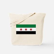 pre-1963 Flag of Syria Tote Bag