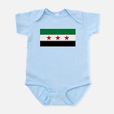 pre-1963 Flag of Syria Infant Bodysuit