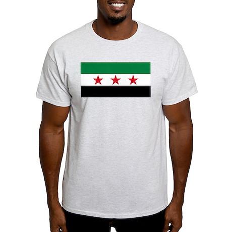 pre-1963 Flag of Syria Light T-Shirt