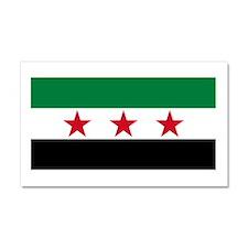 pre-1963 Flag of Syria Car Magnet 20 x 12