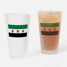 pre-1963 Flag of Syria Drinking Glass