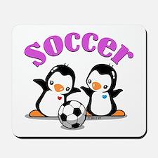 I Like Soccer (3) Mousepad