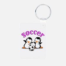 I Like Soccer (3) Keychains
