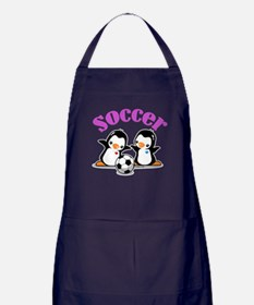 I Like Soccer (3) Apron (dark)