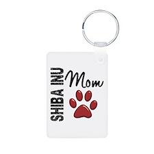 Shiba Inu Mom 2 Keychains
