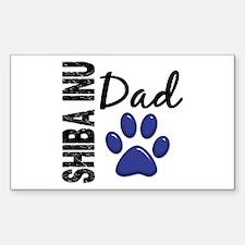 Shiba Inu Dad 2 Decal