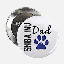 "Shiba Inu Dad 2 2.25"" Button (100 pack)"
