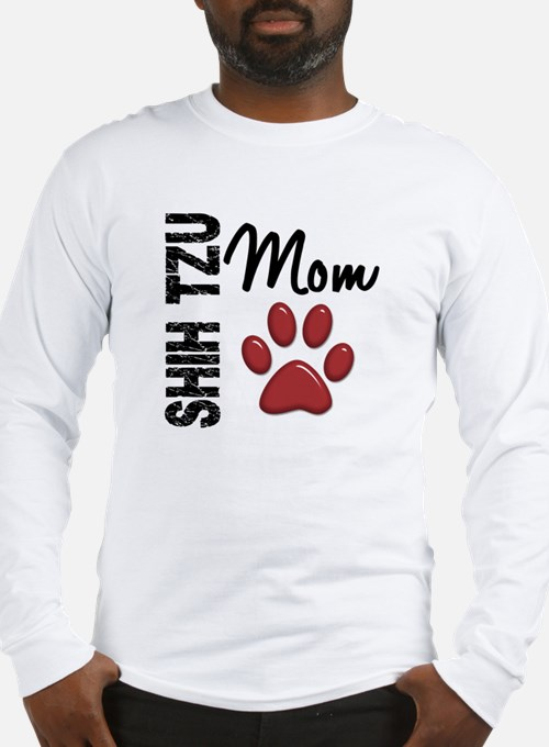 Shih Tzu Mom 2 Long Sleeve T-Shirt