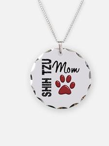 Shih Tzu Mom 2 Necklace