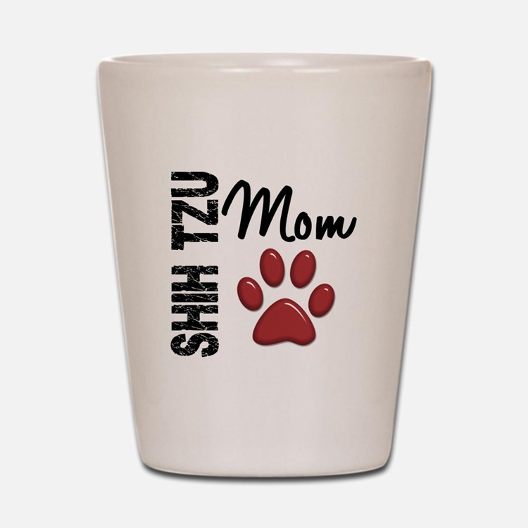 Shih Tzu Mom 2 Shot Glass