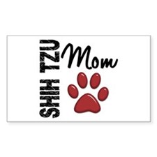 Shih Tzu Mom 2 Decal