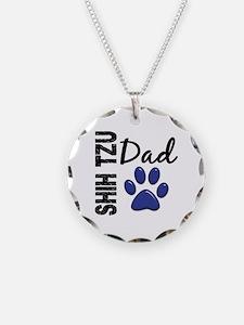 Shih Tzu Dad 2 Necklace