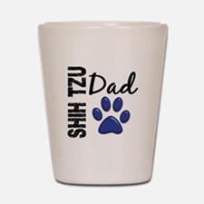 Shih Tzu Dad 2 Shot Glass