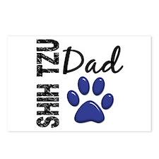 Shih Tzu Dad 2 Postcards (Package of 8)