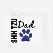 Shih Tzu Dad 2 Greeting Card