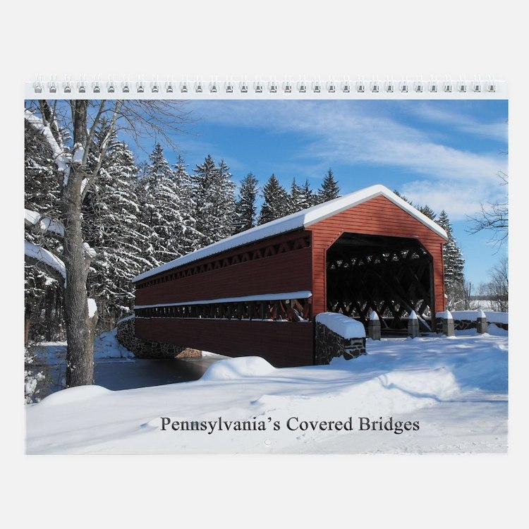 Covered bridge calendars covered bridge calendar designs for Covered bridge design plans