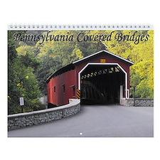 Pennsylvania Covered Bridges Wall Calendar